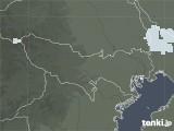 2021年06月21日の東京都の雨雲レーダー