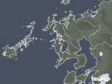 2021年06月22日の長崎県の雨雲レーダー