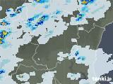 2021年06月24日の栃木県の雨雲レーダー