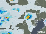 2021年06月24日の東京都の雨雲レーダー