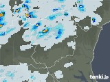 2021年06月25日の栃木県の雨雲レーダー