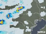 2021年06月25日の東京都の雨雲レーダー