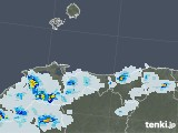 2021年06月25日の鳥取県の雨雲レーダー