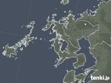 2021年06月25日の長崎県の雨雲レーダー