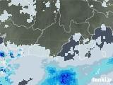 2021年06月27日の静岡県の雨雲レーダー