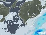 2021年06月27日の和歌山県の雨雲レーダー