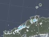 2021年06月27日の島根県の雨雲レーダー