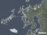 2021年06月27日の長崎県の雨雲レーダー