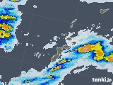 2021年06月27日の沖縄県の雨雲レーダー