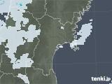 2021年06月27日の宮城県の雨雲レーダー