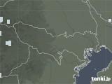 2021年06月28日の東京都の雨雲レーダー