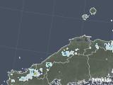 2021年06月28日の島根県の雨雲レーダー