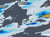 2021年06月28日の沖縄県の雨雲レーダー