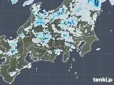 2021年06月29日の関東・甲信地方の雨雲レーダー