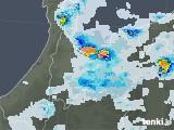 2021年06月29日の富山県の雨雲レーダー