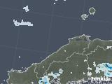 2021年06月29日の島根県の雨雲レーダー