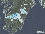 2021年06月29日の宮崎県の雨雲レーダー
