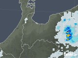 2021年06月30日の富山県の雨雲レーダー
