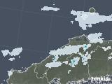 2021年06月30日の島根県の雨雲レーダー