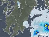 2021年06月30日の宮崎県の雨雲レーダー