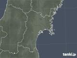 2021年06月30日の宮城県の雨雲レーダー