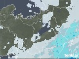 2021年07月01日の滋賀県の雨雲レーダー