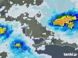 2021年07月02日の愛知県の雨雲レーダー