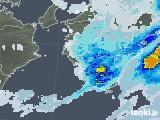 2021年07月02日の和歌山県の雨雲レーダー