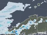 2021年07月02日の島根県の雨雲レーダー
