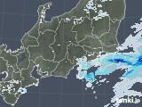 2021年07月03日の関東・甲信地方の雨雲レーダー