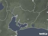 2021年07月03日の愛知県の雨雲レーダー