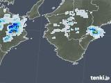 2021年07月03日の和歌山県の雨雲レーダー