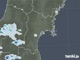 2021年07月03日の宮城県の雨雲レーダー