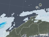 2021年07月04日の島根県の雨雲レーダー