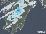 2021年07月04日の宮崎県の雨雲レーダー