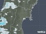 2021年07月05日の宮城県の雨雲レーダー