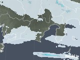 2021年07月06日の静岡県の雨雲レーダー