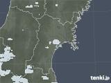 2021年07月06日の宮城県の雨雲レーダー