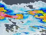 2021年07月07日の島根県の雨雲レーダー
