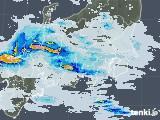 2021年07月08日の関東・甲信地方の雨雲レーダー
