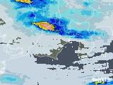 2021年07月08日の静岡県の雨雲レーダー