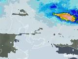 2021年07月08日の愛知県の雨雲レーダー