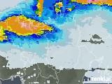 2021年07月08日の滋賀県の雨雲レーダー