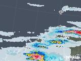 2021年07月08日の島根県の雨雲レーダー