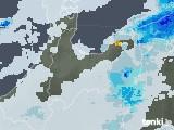 2021年07月09日の富山県の雨雲レーダー