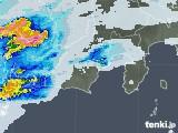 2021年07月09日の静岡県の雨雲レーダー