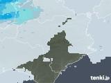 2021年07月09日の徳島県の雨雲レーダー