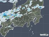 2021年07月10日の関東・甲信地方の雨雲レーダー