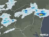 2021年07月10日の栃木県の雨雲レーダー