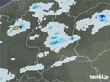2021年07月10日の群馬県の雨雲レーダー